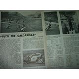 Clipping Motociclismo Campeon Caldarella Moto Club Roma 2 Pg