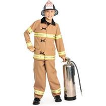 Disfraz Niño Co Vestuario Joven Estadounidense Héroes Fuego