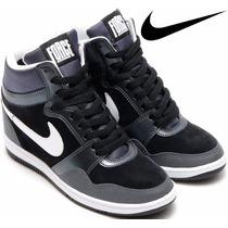 Tenis Zapatillas Nike Dun Sky Hi Tacon Dama Niña Mujer Nba