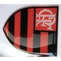 Adesivo Flamengo Resinado Carro Moto Relevo Capacete