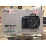 Canon Eos 7d Mark Ii Kit C/lente Ef-s 18-135mm Is Stm,nueva!