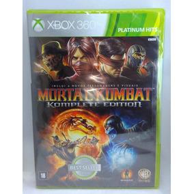 Mortal Kombat 9 Komplete Xbox 360 Lacrado Novo Mídia Fisica