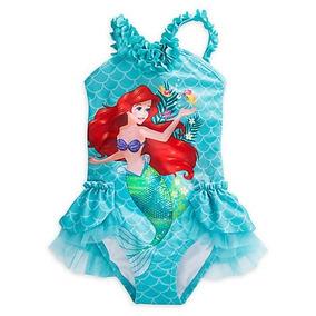 Traje De Baño Ariel Niña Disney Store La Sirenita Tutu