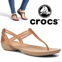 Cholas Sandalias Crocs Isabella Original Talla 38/39