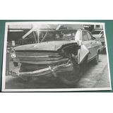 Fotografia Antigua Automovil Chevrolet Chocado - Sin Data