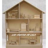 Casita Muñecas Barbie Con Muebles Las Casitas De Lala