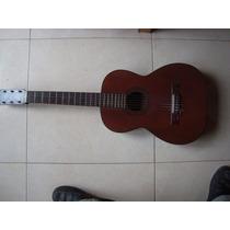 Guitarra Tango Hohner Antigua C/ Clavijas De Ebano Impecable