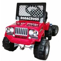 Jeep A Pedal Mini Rodacross C/trailer Karting Planeta Juguet