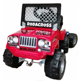 Jeep A Pedal Mini Rodacross C/trailer Karting Planeta Juguet