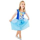 Vestido Fantasia Infantil Cinderela Princesa P / G Original