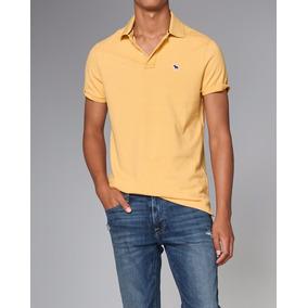 Camiseta Polo Abercrombie Masculina Blusas Moletom Hollister