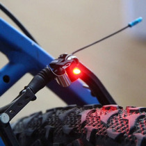 Lote 10 Pzs Luz Led Stop Bicicleta Impermeable Envio Gratis