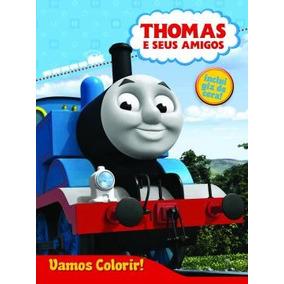 Livro Disney - Vamos Colorir - Thomas E Seus Amigos