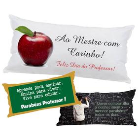 20 Almofadas Travesseiro Lembrancinha 40x20 Dia Do Professor