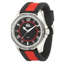 Relógio Masculino Quiksilver The Mariner Black Red