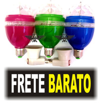 Lampada Led Giratorio Iluminacao Festa Eventos