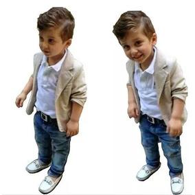 Roupa Social Blazer Camisa Calça Infantil Casamento Luxo
