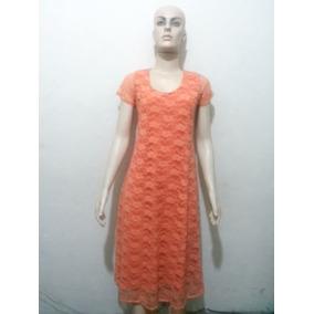 Vestido De Renda Soltinho Longuete (midi) Pp P M G E Gg