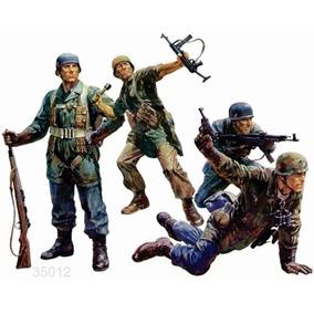 Tanque Tamiya Soldados Alem Paracaidistas 1/35 Armar Pintar