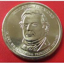 Usa Moneda Presidential Dollars 1 Dolar P 2010 Unc Fillmore