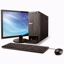 Computadora Acer Aspire 3gb 500gb W7 Monitor 18.5 Zettabyte