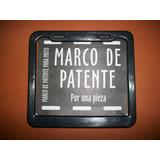Marco De Patente Plastico Para Moto En Color Negro