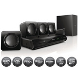 Home Theater Philips Htd3511 Hdmi 5.1 Reproductor Dvd 300w *