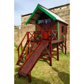 casita infantil de madera ideal para exteriores