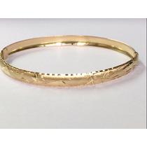 Swjoias Pulseira Algema Bracelete Escrava Egípcio Ouro 18k