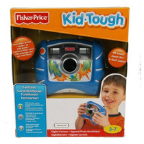 Fisher-price Kid-tough Digital Camera (azul)