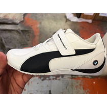 Tenis Puma Drift Cat 5 L Bmw Blanco Intantil 16 Al 22.5 Mx