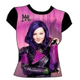 Polera Descendientes Mal Evie Talla 4-14 Disney Cartersitos