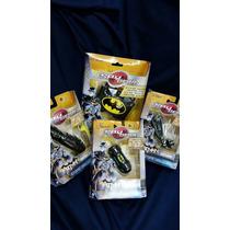 Set De 4 Accesorios Batman Spy Gear Lampara Binoculares