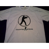 Camisa Do Counter Strike 1.6 Vários Modelo Cs 1.6