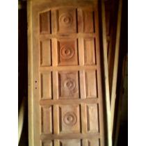 Puerta De Entrada De Algarrobo 0,86x2,00mts.chaqueña