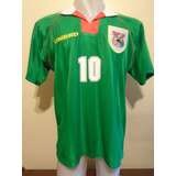 Camiseta Selección Bolivia Umbro Mundial 1994 Etcheverry #10