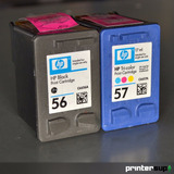 Hp 56+57 Combo Promoción Sin Caja Con Precinto - Printersup
