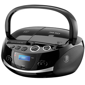 Som Portatil Boombox 20w Rms Com Cd Player - Multilaser