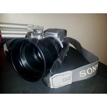 Cámara Fotográfica Sony Super Steadyshot Con Accesorios
