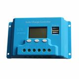 Controlador Carga Batería 12v/24v 10ah Regulador Automático