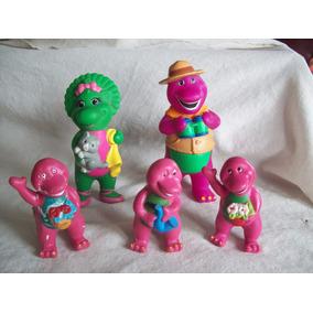 Lote De 5 Muñecos: Barney Y Baby Boop