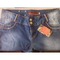Calça Jeans Strass Brilho Plus Size Cintura Baixa Moda