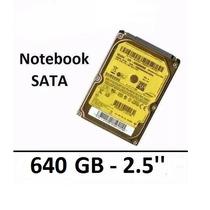 Disco Rígido Hd Sata Notebook/netbook 640gb Samsung Original