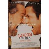 Afiche Cine Locos De Ira 100 X 70 Adam Sandler Nicholson