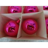 #17672 - Natal - 24 Bolinhas Rosa Pinkl!!!
