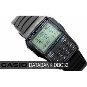 Relogio Casio Dbc 32 Databank Calculadora Alarme Crono Luz