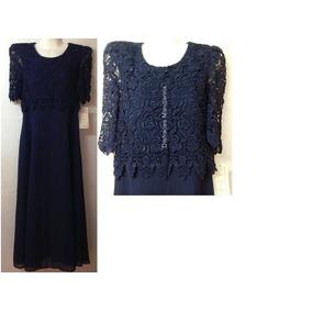 Vestido De Fiesta Color Azul Envio Gratis