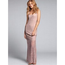 Victorias Secret The Lace Maxi Dress Vestido Sz M