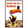 Poster De Una Publicidad De Cerveza Guinness - El Tucan