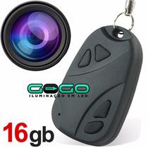 Chaveiro Espiao 16gb Camera Tipo Filmadora Controle I 008